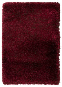 Dywan shaggy Osta Carpets RHAPSODY bordo