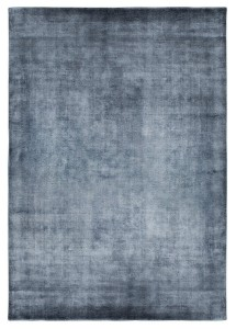 Dywan Carpet Decor Handmade LINEN dark blue