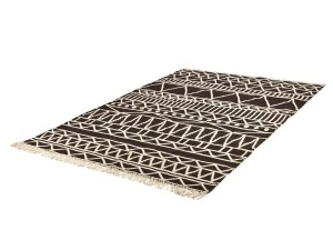Dywan WX The Rug Republic CANTON Charcoal Ivory
