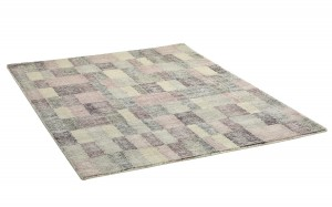 Dywan WX The Rug Republic HOLLYN grey/ivory/rose wełna