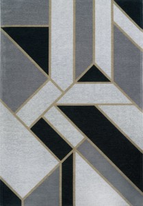 Dywan Carpet Decor Art Deco GATSBY black